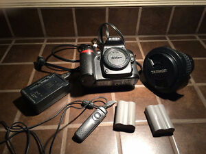 Nikon D80  (190$) et + lentille tamron ( 260 $ )