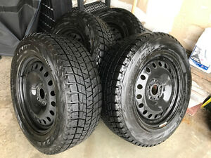 Blizzak tires and wheels for Jeep Grand Cherokee