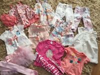 Large baby girl clothes bundle to fit 6-9 months mostly like new condition