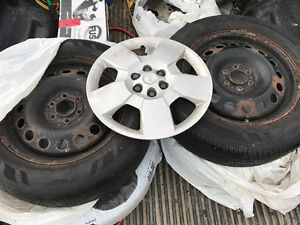 Hercules Touring TR set of four + rims Kitchener / Waterloo Kitchener Area image 1