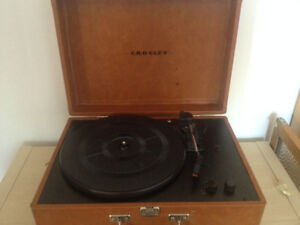 Table tournante Crosley turntable