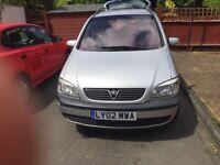 Vauxhall zafira 1.6,mot,low mileage,7seater still available