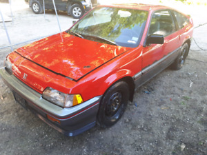 1987 crx parts or project