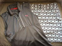 Ladies Puma Golf Outfit Size Large
