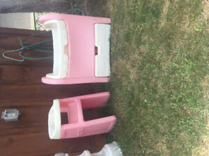 Dolly highchair and crib