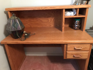 Handmade solid oak desk for sale! $200 OBO