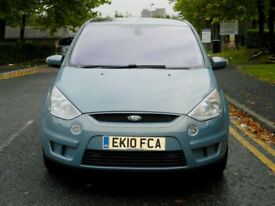 2010 Ford S-Max 2.0 TDCi Titanium 5dr WITH F/S/H+SATNAV+PANO/ROOF+XENONS