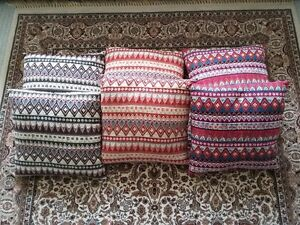 MULTICOLOR CUSHIONS PILLOWS (SET OF 6) - $75 FIRM London Ontario image 3