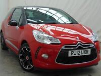 2012 Citroen DS3 E-HDI DSTYLE PLUS Diesel red Manual