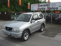 2003 SUZUKI GRAND VITARA 1.6 GV 4X4 SPORT 3 DOOR VERY CLEAN CONDITION