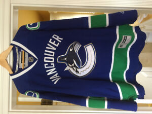 SIGNED Official Roberto Luongo Canucks Heritage Jersey