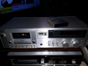 220 + various cassettes and deck.