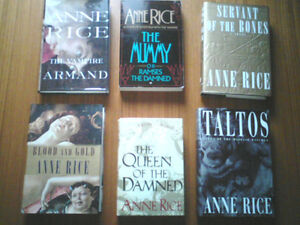 POPULAR FICTION HARDCOVER for sale ( all Anne Rice SOLD)