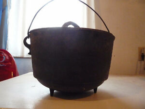Kettle, cast iron