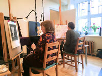 Cours de Dessin et Peinture / Drawing and Painting Classes