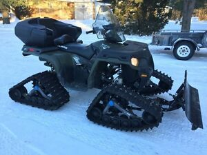 2013 sportsman 800 EFI with tracks
