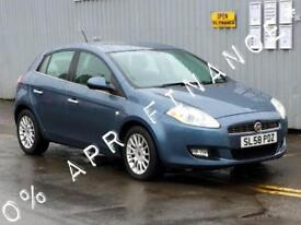 2008 FIAT BRAVO 1.9 Multijet 150 Dynamic 5dr 0 finance offer on this car