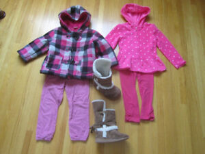 3T - 4T Jackets, pants and boots