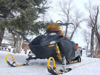 looking to trade a 2004 Ski-do summit 800 for cargo trailer