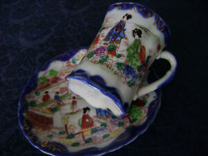 Tea  cup and saucer (1 set)