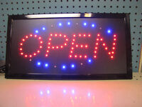 """OPEN"" SIGNS only 29.99"