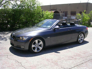 2007 BMW 335i Convertible-  160000km. runs perfect. we finance