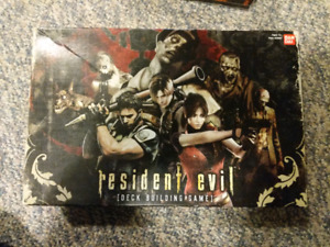 Resident Evil deck-building game and expansion