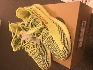Adidas Yeezy 350 V2 Semi Frozen Yellow - 6.5 US