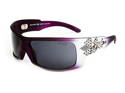New MORMAII Asturias Women Hand Painted Sports Eyewear Sunglasses Purple / White