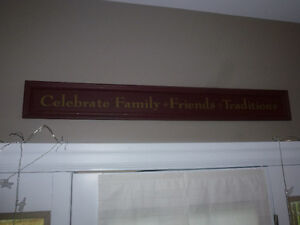 Family Traditions Wall Hanging