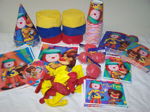 Jo Jo Circus Clown Party Items