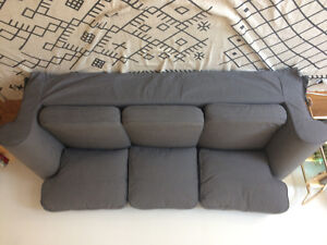 IKEA EKTORP SOFA/COUCH - 1 year old - excellent condition