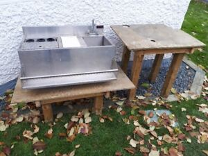 Stainless Steel Potting Sink