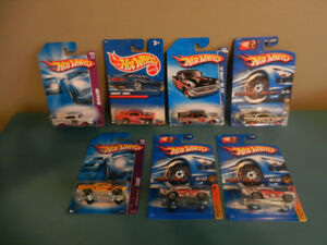 Hot Wheels 1957 Chevy Variations Lot of 7