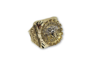 bague Versace en or 10k SPECIAL 299$