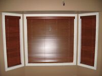 Maple Wood Vertical Blinds