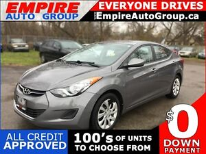 2012 HYUNDAI ELANTRA POWER GROUP * SAT RADIO SYSTEM * CRUISE CON