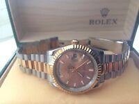 Mens Rolex Daydate Wrist Watch with Box