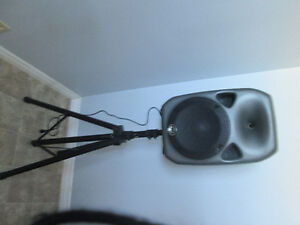 Power Speaker with stand