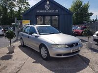 Vauxhall Vectra 1.8 16V LS (silver) 2000