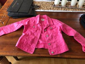 Manteau printemps fille médium et 1 coat  jean