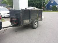 Free scrap metal pick up. man with truck / trailer 519 865 3946