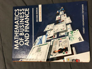 Mathematics of Business and Finance- Second Edition