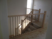 Railing  installations and replacements