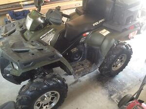 2011 POLARIS SPORTSMAN 800 EFI LIKE NEW $7900