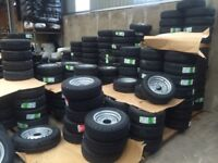 Trailer parts wheels tyres hubs ifor Williams nugent Hudson Dale Kane trailers