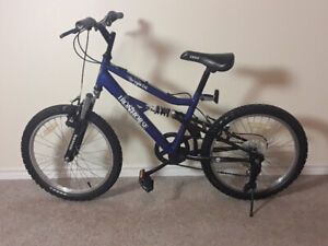 """Excellent 20"""" Iron Horse Outlaw 6spd with dual shocks"""
