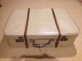 1950's Suitcase with Key