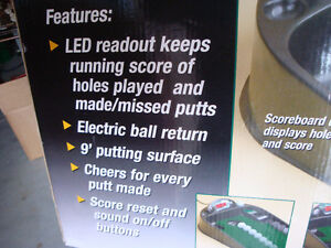 Golf, Golf game, Putting green, Electronic putting green London Ontario image 3
