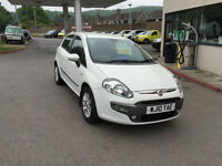 2010 Fiat Punto Evo 1.4 8v ( s/s ) Dynamic low mls fsh in white